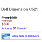 Dell False Discount Settlement